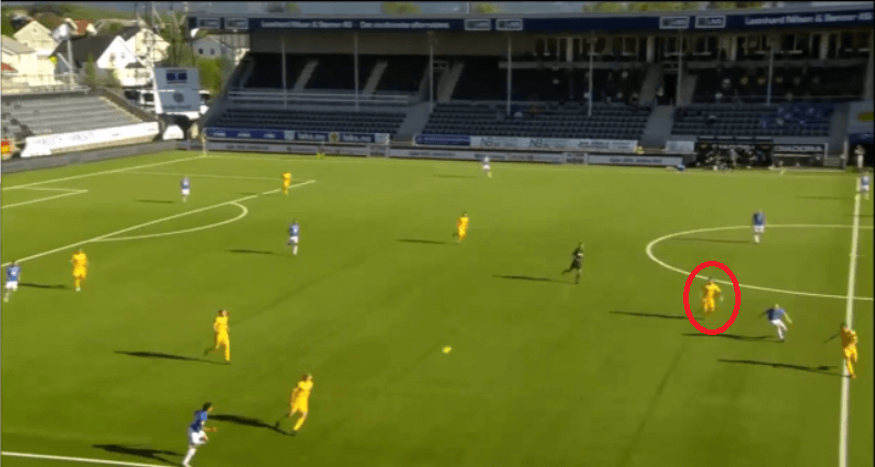 Patrick Berg 2020 - scout report - tactical analysis tactics